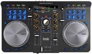 Mesa de mezcla barata Hercules universal dj