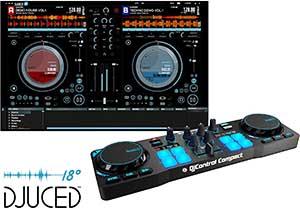 Mesa de mezcla Hercules DJcontol compact pequeña