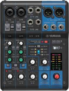 Mesa de mezcla Yamaha MG06 x