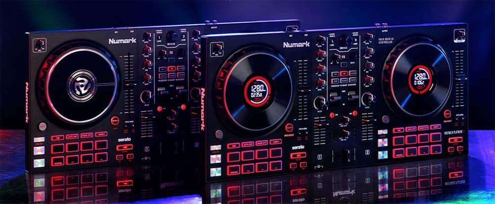 Numark presenta sus dos nuevas controladoras: Mixtrack Platinum FX y Mixtrack Pro FX