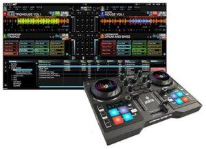 Revisión de controlador dj DJControl Instinct P8 precios, opiniones y software DJuced