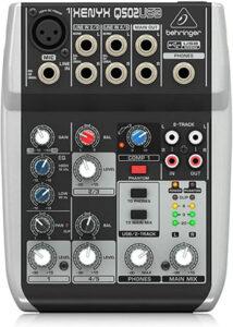 Review de mesa de mezclas Behringer Xenyx Q502USB precios, opiniones y más