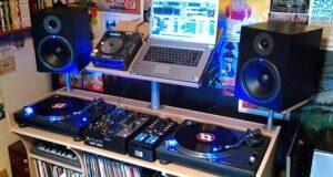 Altavoz para dj estudio en casa