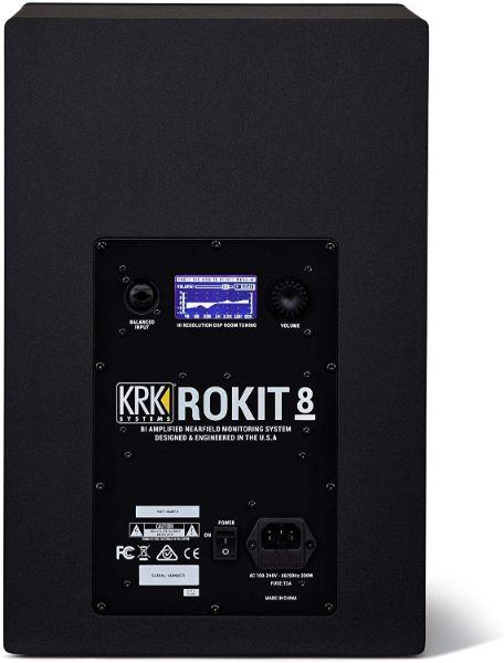 Opciones de conexión monitor krk rokit 8 g4