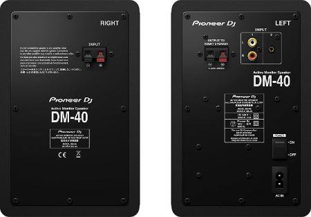Opciones de conexión pioneer dm-40